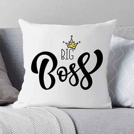 King of The Bosses Cushion: Gift Ideas for Boss