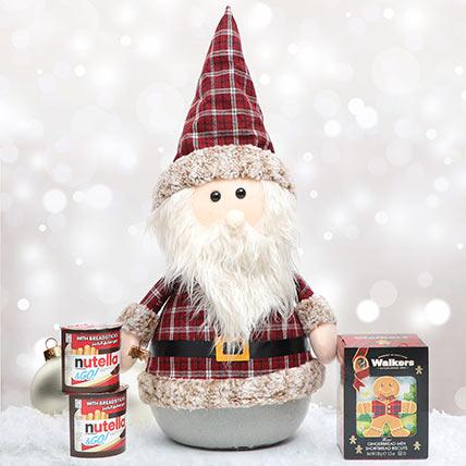 Santa With Walkers and Nutella: Secret Santa Gifts