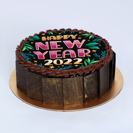 A Berry Happy New Year Cake: Happy New Year Cake 2021