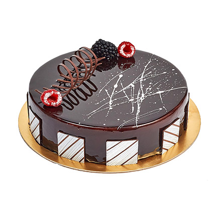 Chocolate Truffle Birthday Cake: Cake Delivery in Ras Al Khaimah