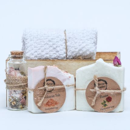Bath Basket: Personal Care Products
