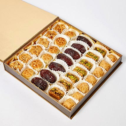 Premium Arabic Sweets Box: Business Gifts