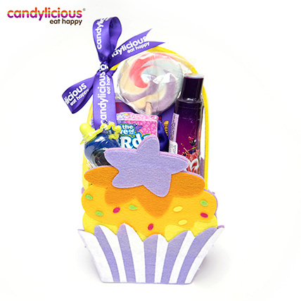Candylicious Cupcake Felt Purple Gift Pack: Kids Gift Ideas