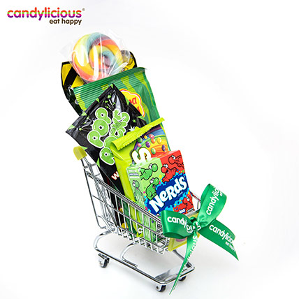 Candylicious Mini Trolley Green Gift Pack: Candylicious