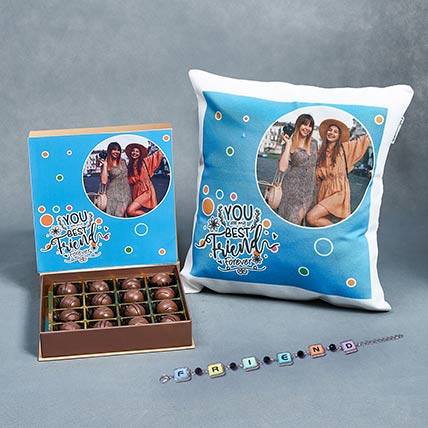 Friends Forever Combo: Friendship Day Personalised Gifts