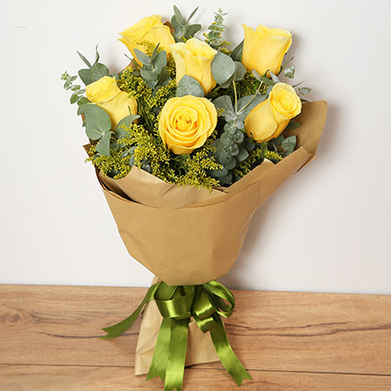 Bouquet Of Yellow Roses PH: Gift Delivery Philippines