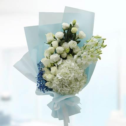 White Flowers Bouquet: