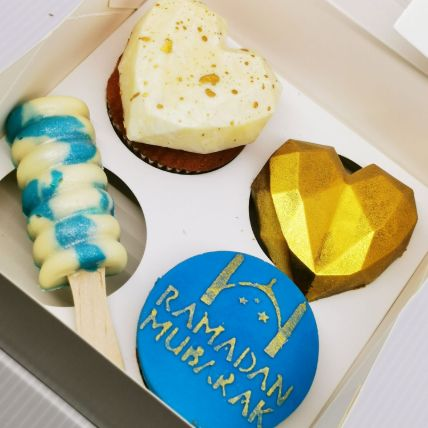 Ramadan Theme Cupcakes And Cakesicles: