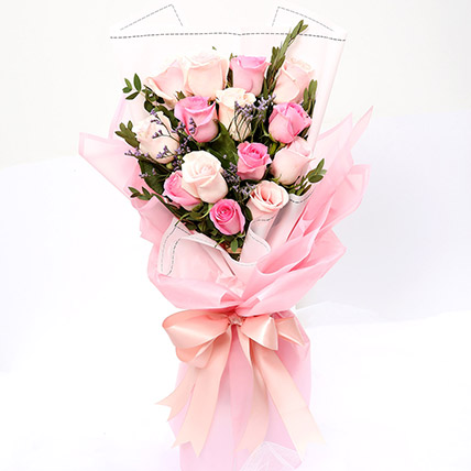 Dreamy Mixed Roses Bouquet SG: Gift Delivery Singapore