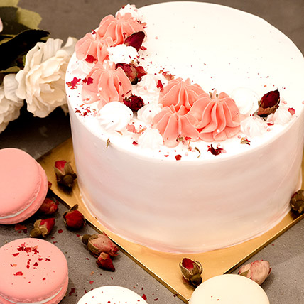 5in Round Red Forest Cake: Gift Delivery Singapore