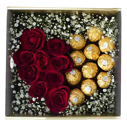 Hearty Choco Arrangement:  Gift Delivery In Sri Lanka
