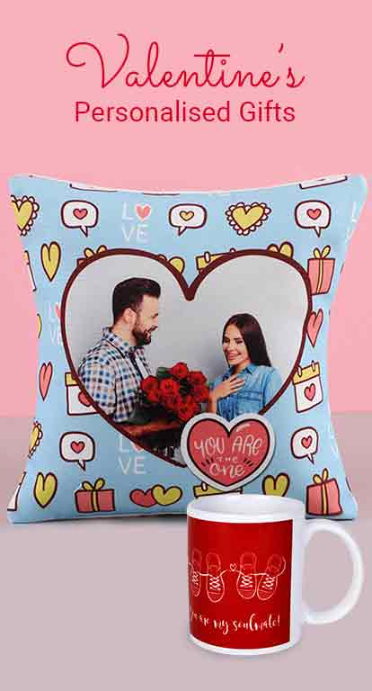 Valentine Personalised Gifts Online