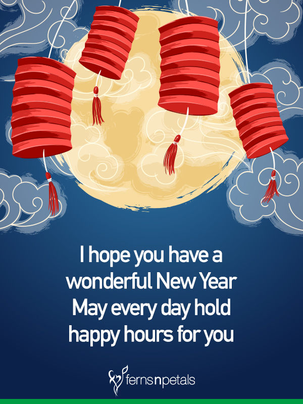 chinese new year wishes traditional