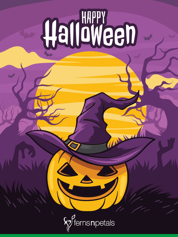 halloween day wishes images
