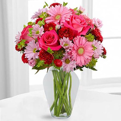 Color Your Day With Happines Bouquet