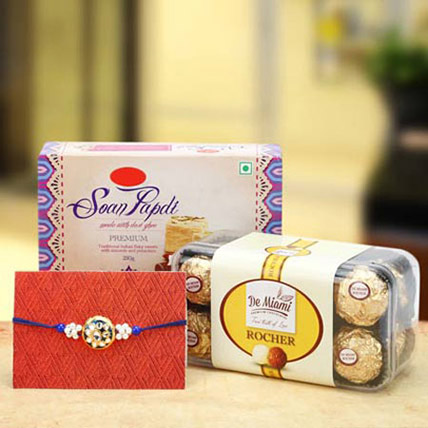 Sugar Coated Rakhi Wishes