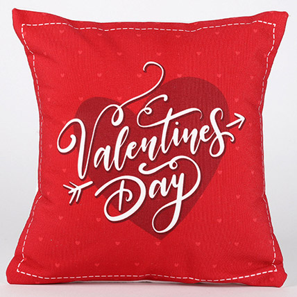 Valentines Day Special Printed Cushion and Mug Combo