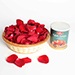 Rose Petals Basket And Sweets
