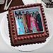 Square Photo Cake 2 Kg Truffle Cake