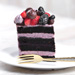 Delicious Chocolate Berry Eggless Cake- 1 Kg
