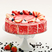 Strawberry Flavour Cake- 1 Kg