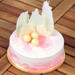 Sweet & Delicious Vanilla Eggless Cake- 1 Kg