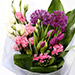 Tulip and Eustoma Mixed Floral Bouquet SG
