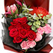 Glorious Mix Roses and Protea Bouquet SG
