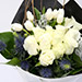 White Roses and Tulips Mixed Bouquet SG