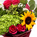 Passion Roses and Lavender Mix Flowers Bouquet SG